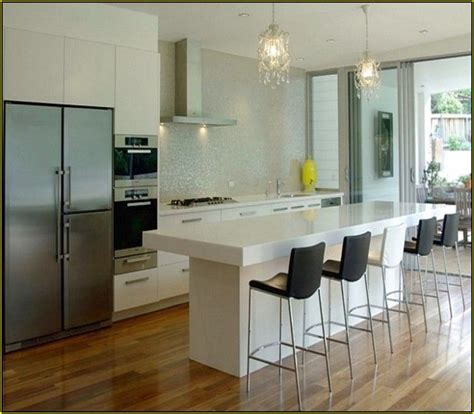 kitchen island idee contemporary kitchen islands with seating modern kitchen