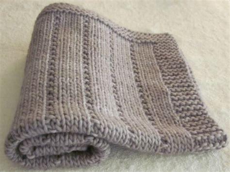 copertine per a maglia lavori a maglia copertina neonato facile
