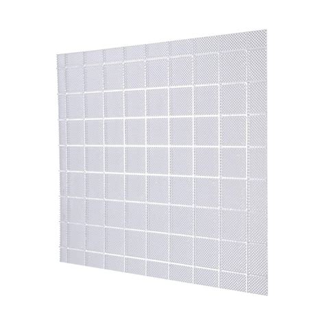 Acrylic Ceiling Light Panels 2 Ft X 4 Ft Acrylic Clear Prisma Square Lighting Panel 5 Pack Lp2448clpsqacr 5 The Home Depot