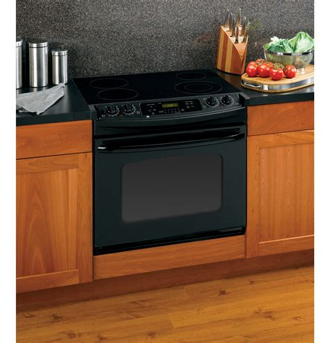 drop in stove ge 174 30 quot drop in electric range with self cleaning oven