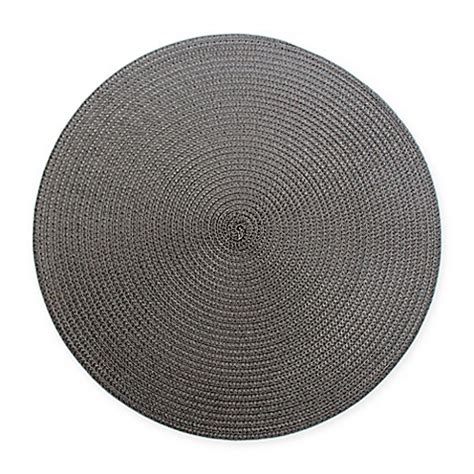 libro round to ours setting indoor outdoor round placemats set of 6 bed bath beyond