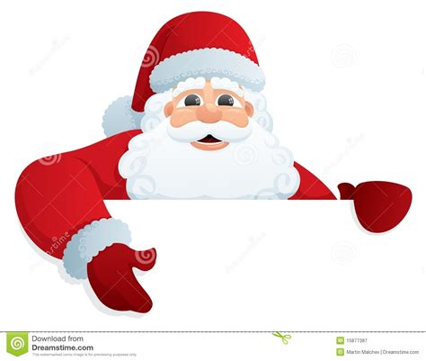 santa sign 2 stock vector image of jolly cute element