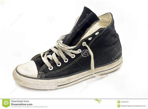 Shoe Unlimited Sr 5003 Black single shoe stock images image 15429764
