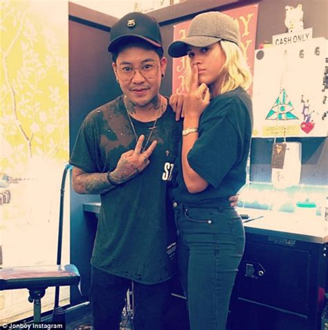 jonboy tattoo cost sofia richie hits snapchat to document inking session with