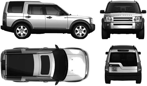 land rover discovery drawing car land rover discovery lr3 2005 the photo thumbnail