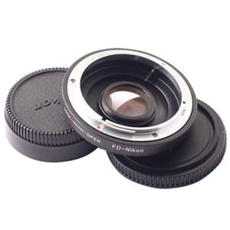 Adapter Lensa Canon To Nikon canon fd lens to nikon mount adapter ring glass ebay