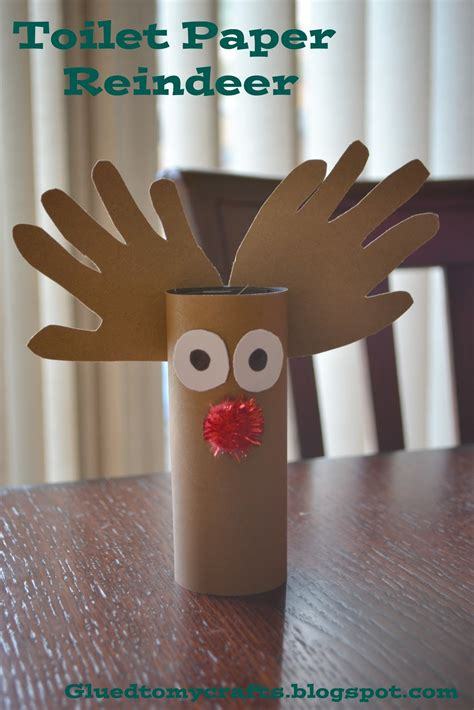 Reindeer Paper Craft - redirecting