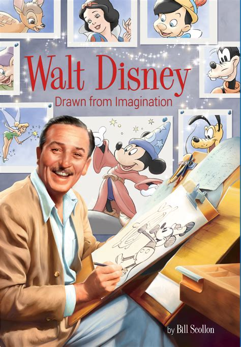 walt biography movie book review walt disney drawn from imagination dis blog