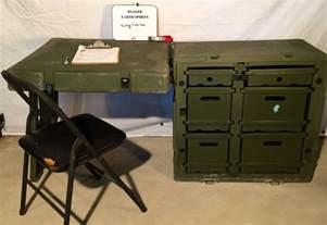 desk in the field pelican hardigg portable field desk usgi army