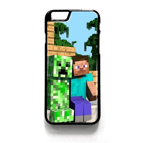 Minecraft Creeper Iphone 4 4s 5 5s 5c 6 6s Plus minecraft steve creeper iphone 4 4s 5 5s from hazelcase things