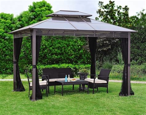 Ideas Design For Hton Bay Gazebo Metal Roof Gazebo Home Depot Thousands Of The Most Beautiful House Designs