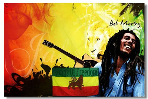 2014 new bob marley bm 5 hd home decor poster