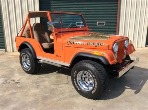1977 Jeep Golden Eagle Sell New 1977 Jeep Cj5 Golden Eagle 304 V8 In Cleveland