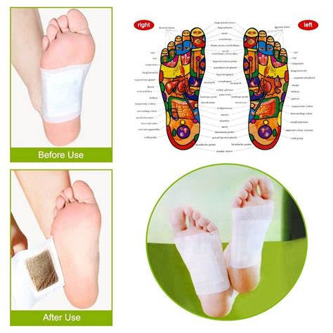 Where To Put Detox Foot Patches by Kinoki Cleansing Detox Foot Pads Patches