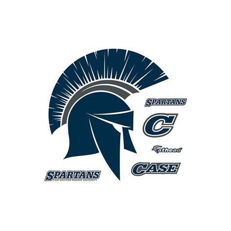 Cwru Business Card Template by Western Reserve Spartans Logo Wall Decal Shop