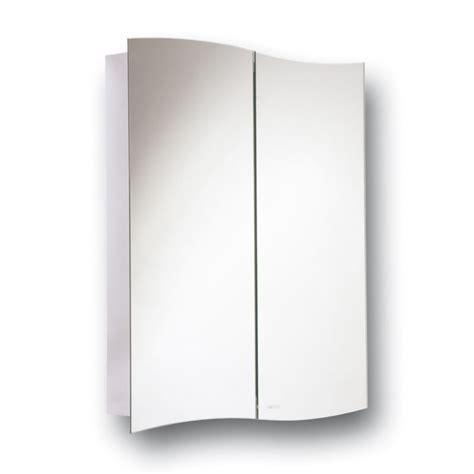 Wave Duo Hinge Cabinet Mirror Bathroom Wall Mounted Hinged Bathroom Mirror