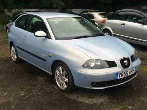 2005 seat ibiza seat 2005 ibiza sport 16v blue 1 4 3 door great condition