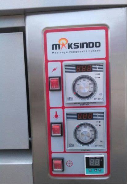 Oven Gas Maksindo mesin oven roti gas 3 rak 9 loyang go39 toko mesin
