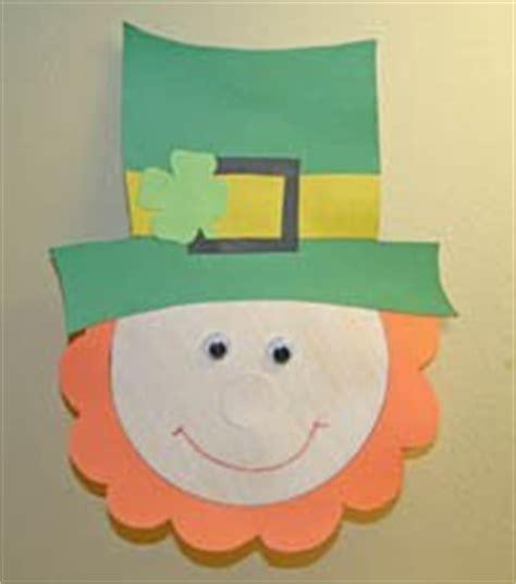 Leprechaun Paper Craft - mishmash st s day 17 de marzo