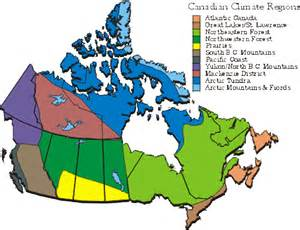 canada thematic map