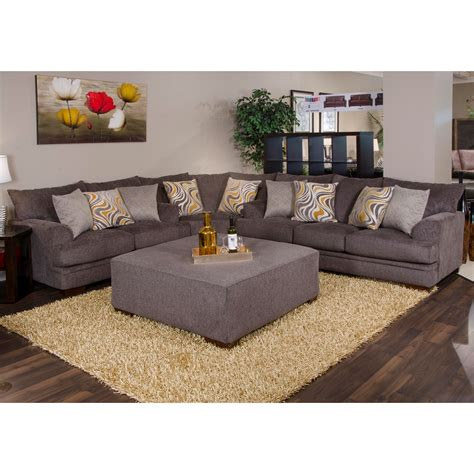 Jackson Sectional Sofa Jackson Sectional Sofa Barkley 3 Sectional In Grey Fabric By Jackson Furniture Thesofa