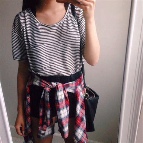 Dress Crop Panda Stripe t shirt stripes striped t shirt black black t shirt