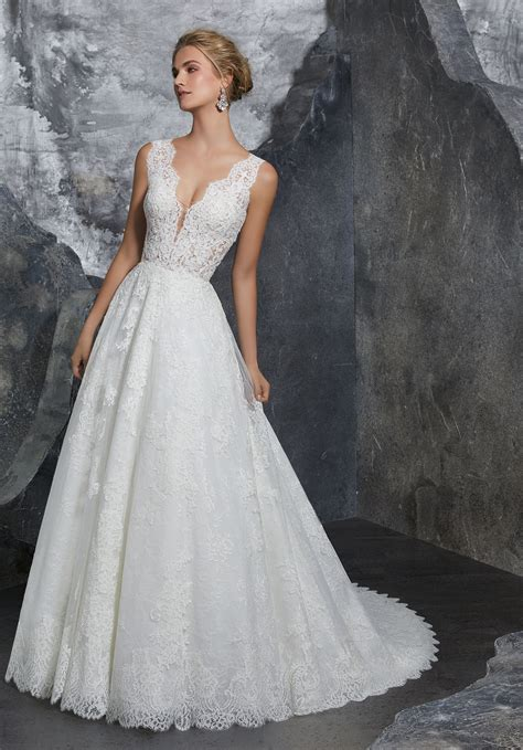 Bridal Dresses - wedding dress style 8208 morilee