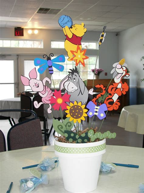 winnie the pooh baby shower centerpiece ideas my paper crafting monday showcase pooh friends