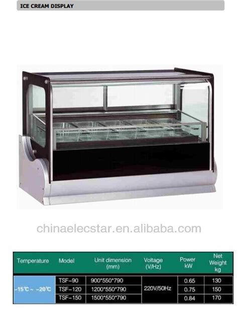 Freezer Gelato countertop freezer gelato display scooping freezer buy gelato