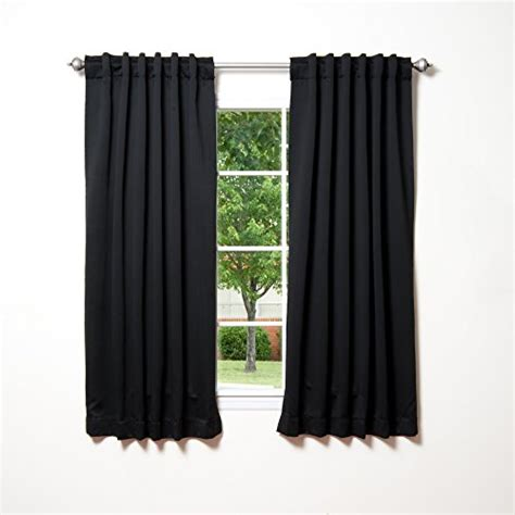 what are the best thermal curtains best home fashion thermal insulated blackout curtains