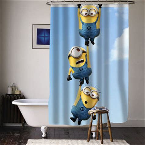 minion curtains best minion shower curtain products on wanelo