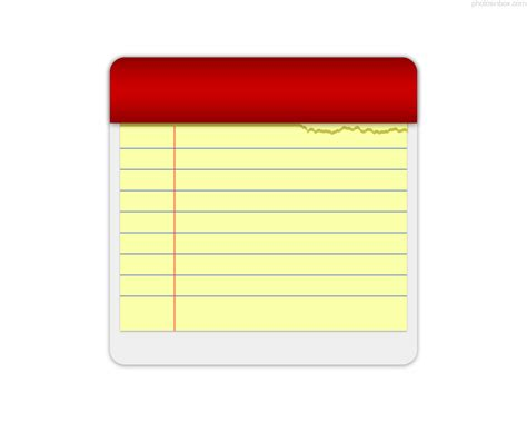 notepad template blank yellow notepad photosinbox