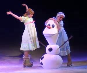 Frozen On Disney S Frozen On Photos From The Show