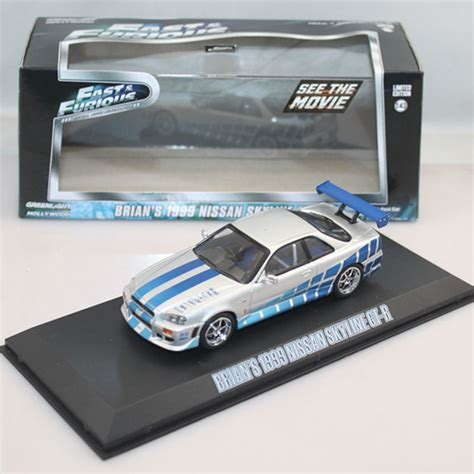 Greenlight Brians 1999 Nissan Skyline Gt R Extremely 1 43 diecast nissan goods catalog chinaprices net