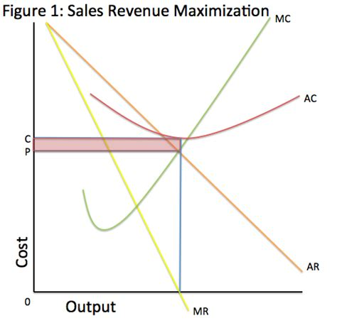 difference between marris growth maximization model and sales maximization model 4 main financial objectives of business firm of the profit maximization model as a with sales revenue than with profit ii growth.