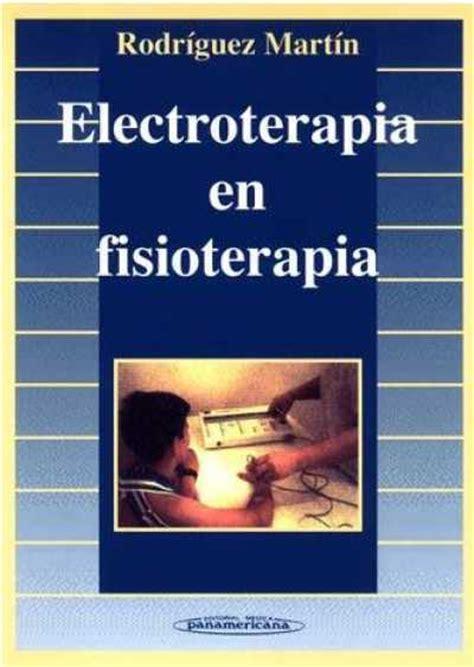 libros de fisioterapia deportiva pdf libros de electroterapia