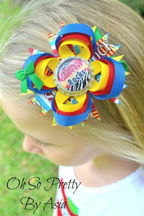 back to school hairstyles with bows back to school hair bow 1st 2nd 3rd 4th 5th kindergarten