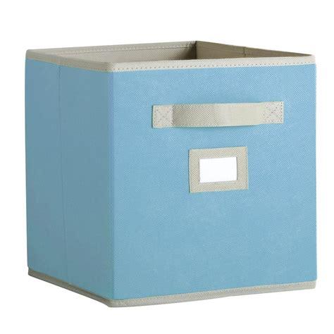martha stewart living half width fabric drawers martha stewart living 10 1 2 in x 11 in cloudless day