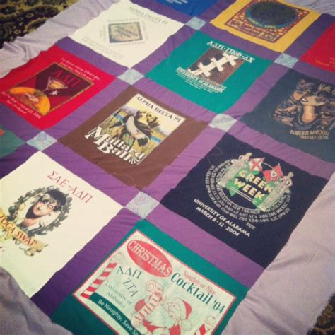 T Shirt Quilts Cheap by How To Make A T Shirt Quilt Lamberts Lately A Home And Family By Leslie Lambert