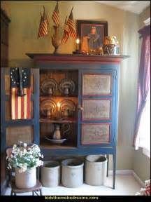 Americana decorating ideas rustic colonial style decorating ideas