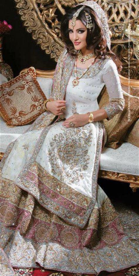 White Bridal Dresses by White Lehenga Designs For Wedding With Price 2018 In Pakistan