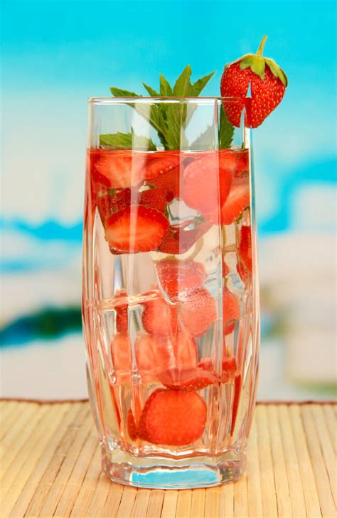 whats  fruit infused water