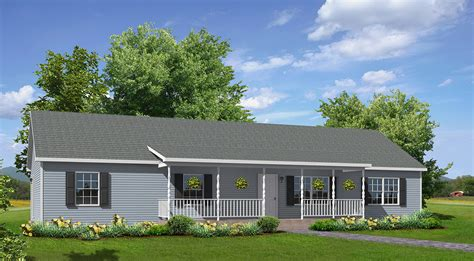 House Floor Plans For Narrow Lots by Willow Creek Ranch Style Modular Homes