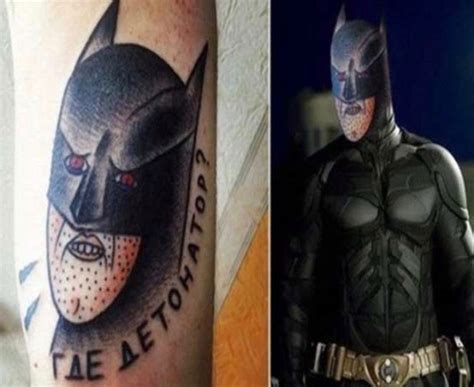 Batman Tattoo Bad | 17 of the worst bad tattoos that define fail team jimmy joe
