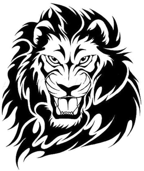 tribal lion tattoos high quality photos and flash designs