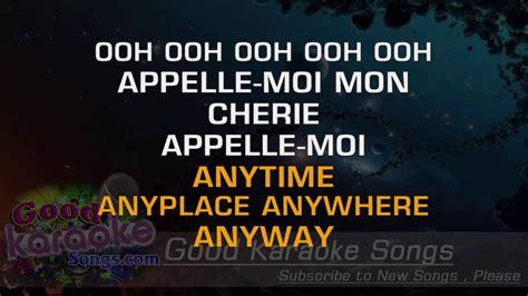 blondie lyrics call me blondie lyrics karaoke goodkaraokesongs