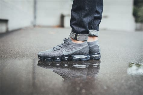 Nike Air Vapormax Flyknit Cool Grey release reminder nikelab air vapormax cool grey
