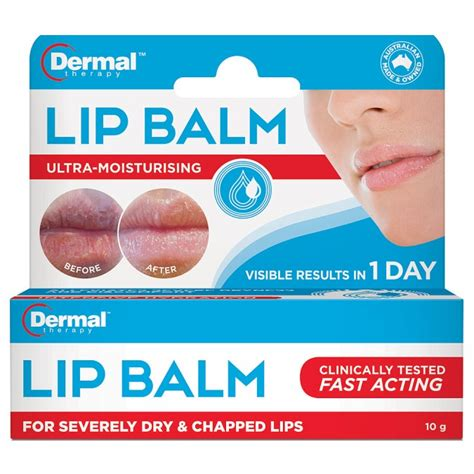 9 Of My Favorite Lip Products 2 by Buy Lip Balm 10 G By Dermal Therapy Priceline