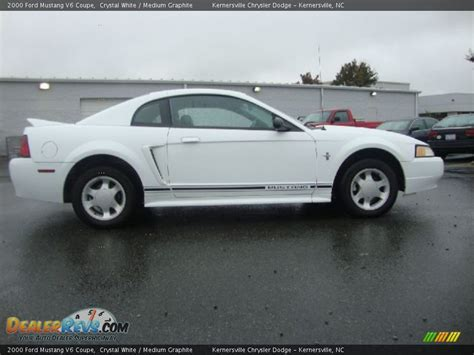 2000 ford mustang v6 2000 ford mustang v6 coupe white medium graphite