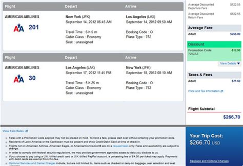 American Airlines Discount Gift Card - the flight deal american new york los angeles and vice versa 280 roundtrip